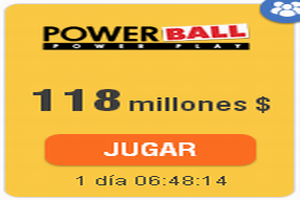 powerball 118 millones