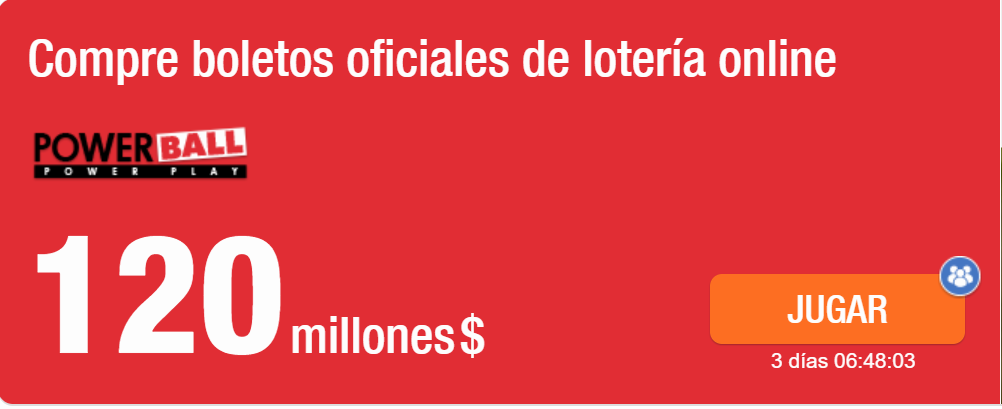 powerball 120 millones
