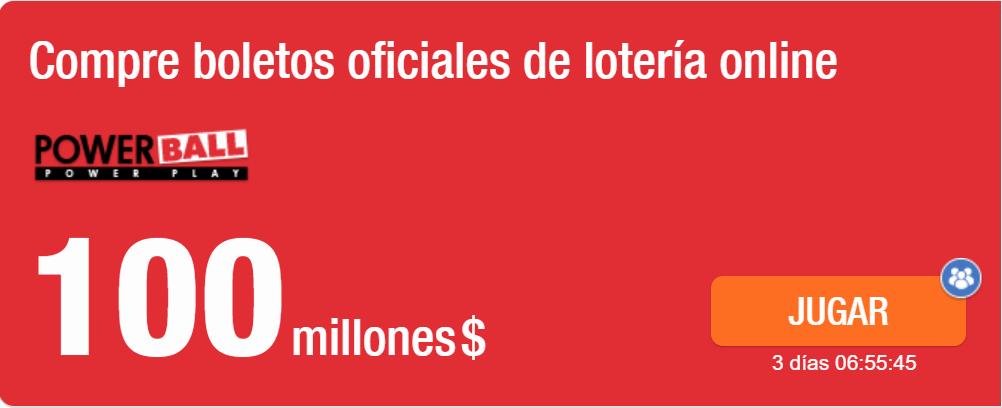 powerball 100 millones